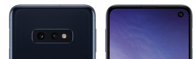 Camera kép mặt sau và Camera selfie của Galaxy S10E