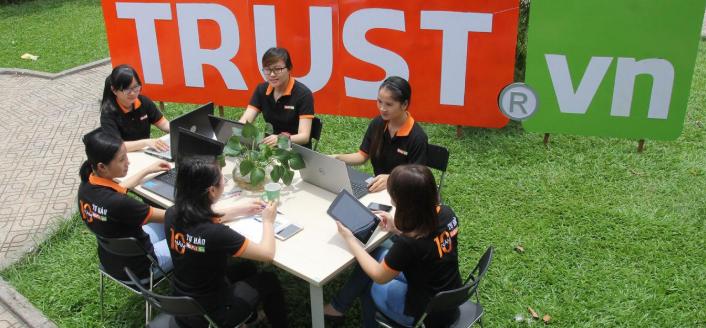 Công ty thiết kế website Trust.