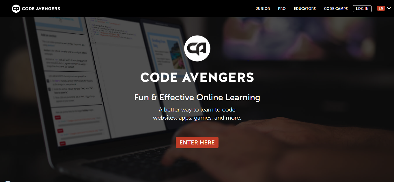 website học lập trình codeavenger