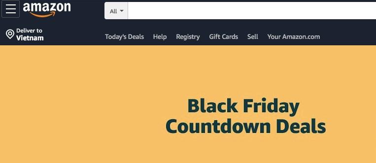 Amazon mua hàng toàn cầu