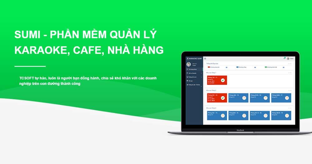 Sumi- Phần mềm quản lý Karaoke, cafe, nhà hàng
