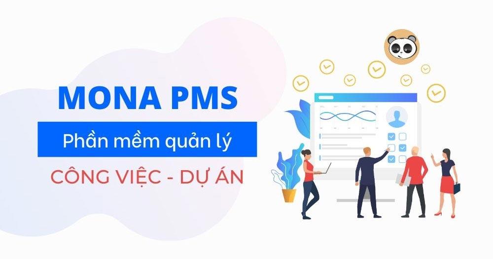 Quy trình quản lý dự án bằng Phần mềm Mona PMS