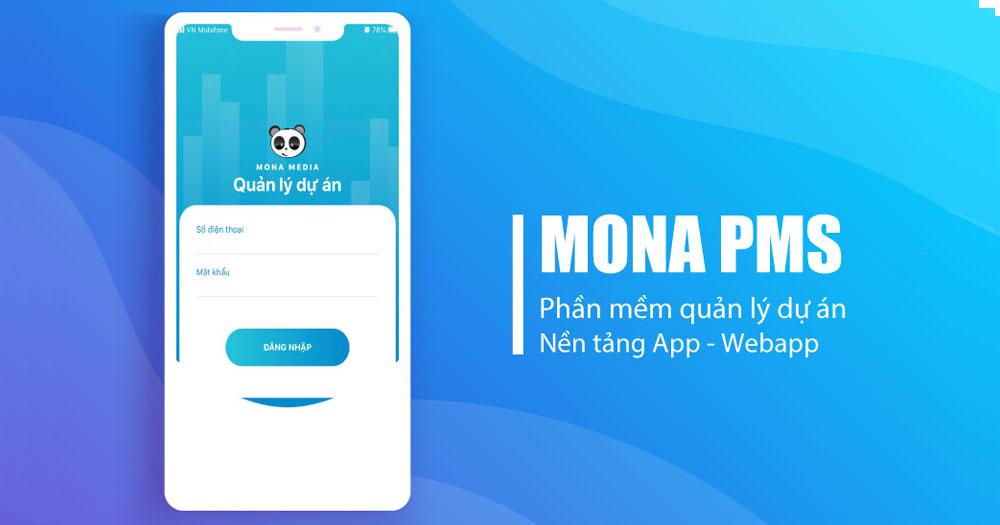 Phần mềm Mona PMS được thiết kế chuyên để quản lý dự án, quản lý công việc