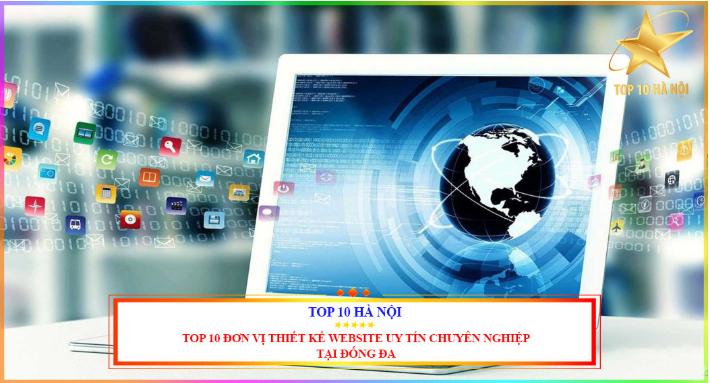 Top 10 công ty thiết kế website ở Hà Nội.