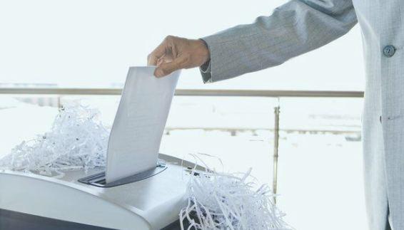 Cần thiết để xóa những tài liệu mật của công ty