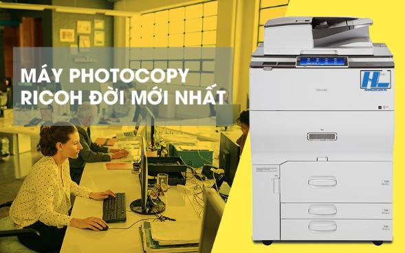 Top 10 dòng máy photocopy Ricoh mới nhất