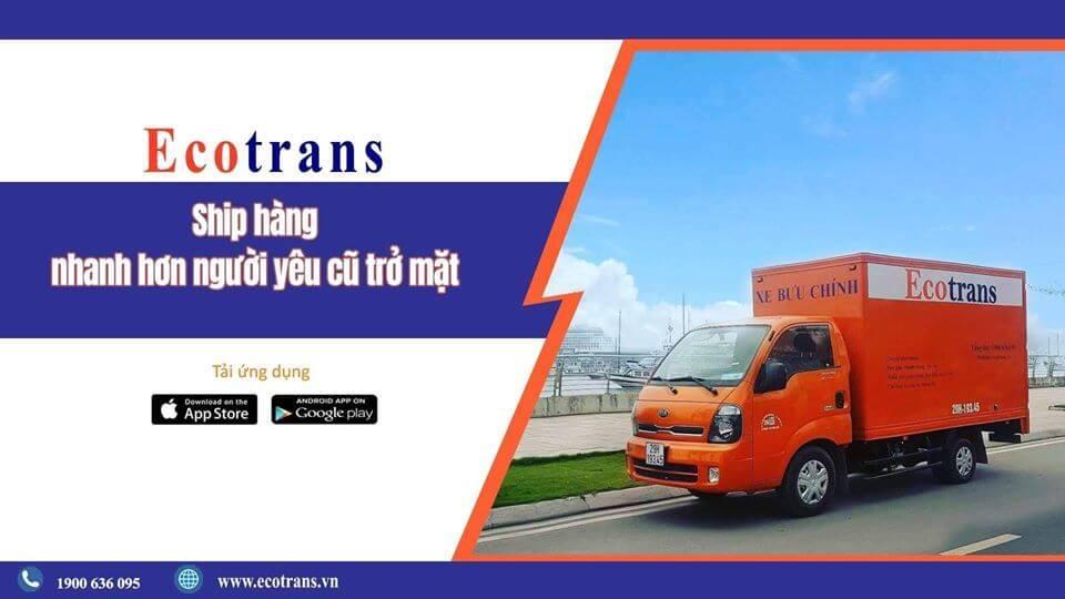 Dịch vụ vận chuyển hàng hóa Ecotrans