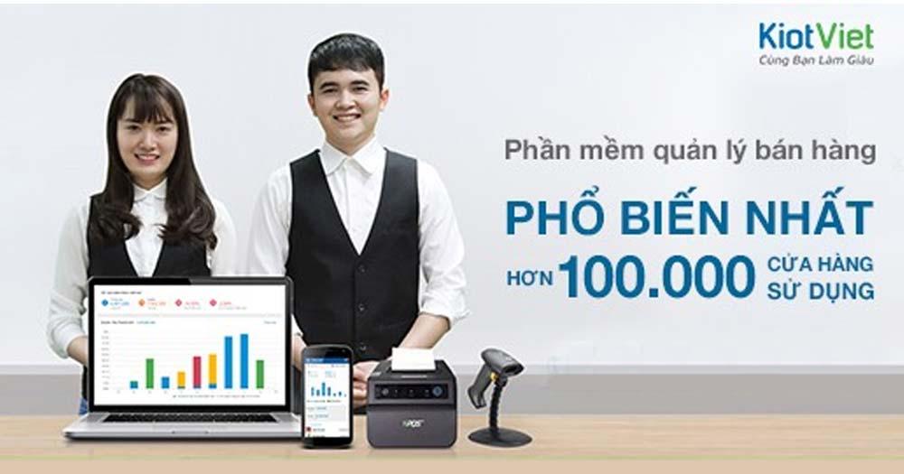 phần mềm thu ngân Kiotviet- Quản lý Kinh doanh Online tiện lợi