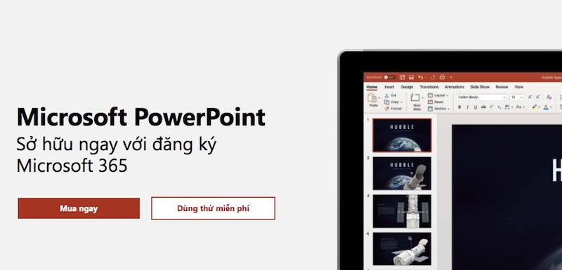 Phần mềm soạn giáo án Power Point