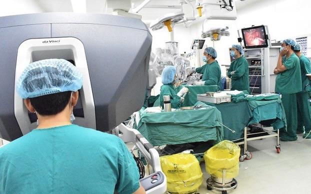 Ứng dụng robot phẫu thuật trong y tế