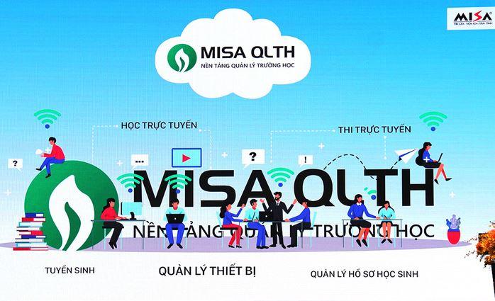 Phần mềm quản lý giáo dục Misa QLTH