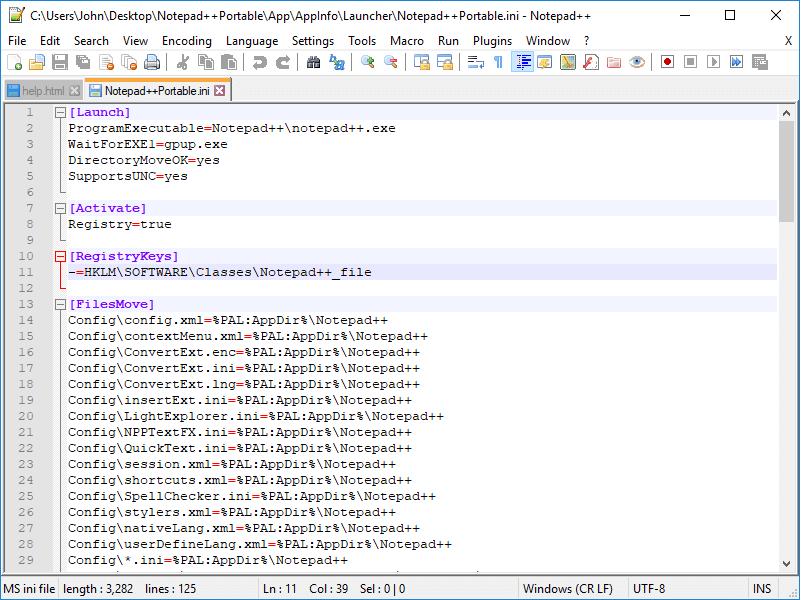 phần mềm thiết kế website notepad++