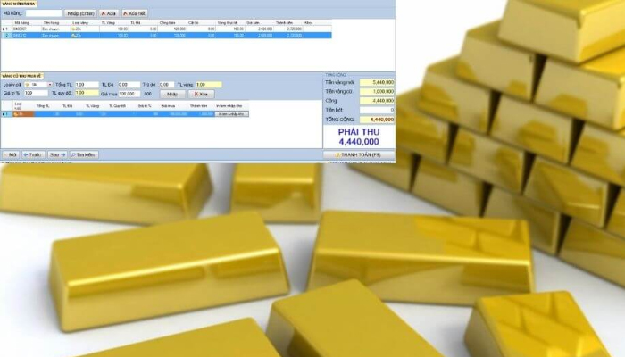 Phần mềm quản tiệm vàng bạc - đá quý Pro Gold Stores