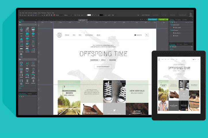 Thiết kế bản mẫu website